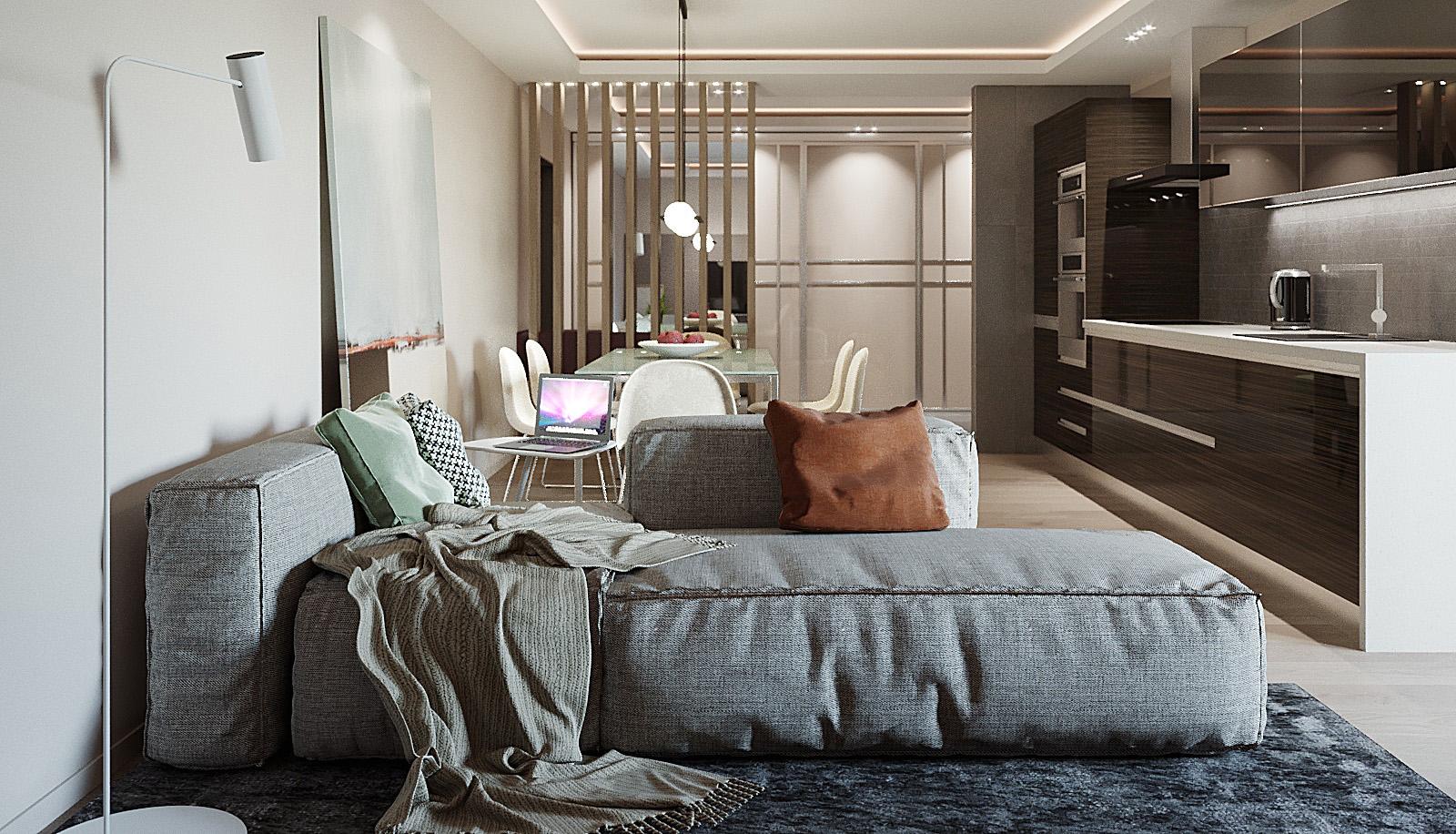 дизайн гостиной зоны